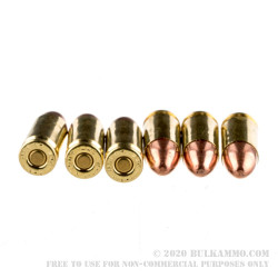 250 Rounds of 9mm Ammo by Remington - 115gr FMJ