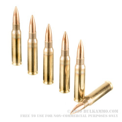400 Rounds of .308 Win Ammo by Magtech - 168gr HPBT MatchKing