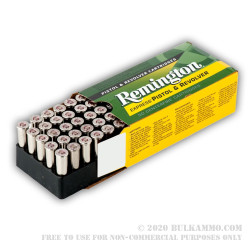 500  Rounds of .357 Mag Ammo by Remington - 110gr SJHP