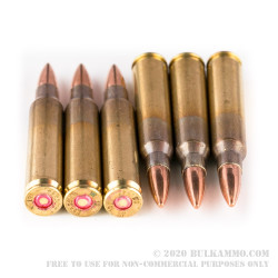 20 Rounds of 5.56x45mm Ammo by Igman Ammunition - 55gr FMJ