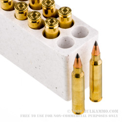 20 Rounds of .223 Ammo by Winchester Varmint-X - 40gr Polymer Tipped