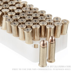 50 Rounds of .38 Spl Ammo by Estate Cartridge - 130gr FMJ