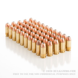 50 Rounds of .40 S&W Ammo by Winchester Ranger - 135gr JHP