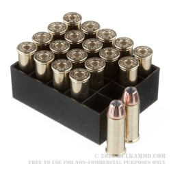 20 Rounds of .44 S&W Spl Ammo by Hornady - 180gr JHP