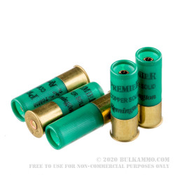 5 Rounds of 12ga Ammo by Remington - 1 ounce Copper Solid Sabot Slug