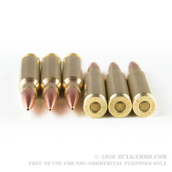 20 Rounds of .308 Win Ammo by Silver State Armory - 168gr Hollow Point Boat Tail