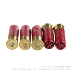 "5 Rounds of 12ga 2-3/4"" Ammo by Federal Vital-Shok -  00 Buck (Copper-Plated Lead Buckshot)"