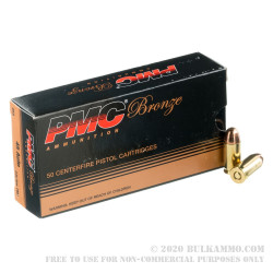 750 Rounds of .45 ACP Ammo by PMC - 230gr FMJ