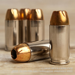 500 Rounds of .45 ACP Ammo by Remington Golden Saber Bonded - 185gr JHP