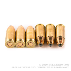 50 Rounds of 9mm Ammo by Israeli Military Industries - 115gr JHP