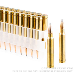 20 Rounds of .300 Win Mag Ammo by Federal - 150gr SP