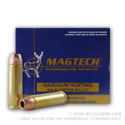 20 Rounds of .500 S&W Mag Ammo by Magtech - 275gr SCHP