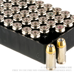 500 Rounds of 40 S&W Ammo by Remington Golden Saber - 180gr BJHP