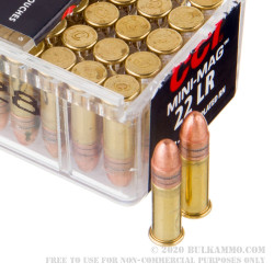 100 Rounds of .22 LR Ammo by CCI - 40gr CPRN