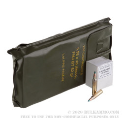 1000 Rounds of 5.56x45 M855 Ammo in Battle Packs by Prvi Partizan - 62gr FMJBT