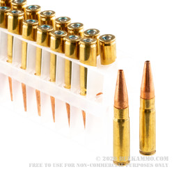 200 Rounds of .300 AAC Blackout by Federal Power-Shok - 120gr HP