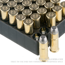 50 Rounds of .44-40 Win Ammo by Magtech - 225gr LFN