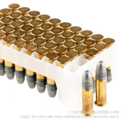 500 Rounds of .22 LR Ammo by Federal American Eagle - 40gr LRN