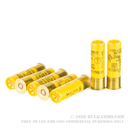 250 Rounds of 20ga Ammo by NobelSport - 7/8 ounce #7 steel shot