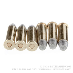50 Rounds of .38 Spl Ammo by Black Hills Ammunition - 158gr CNL