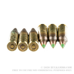 600 Rounds of 5.56x45 Ammo by Federal Eagle - 62gr FMJ XM855