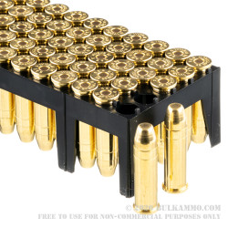 1000 Rounds of .38 Spl Ammo by Sellier & Bellot - 158gr FMJ