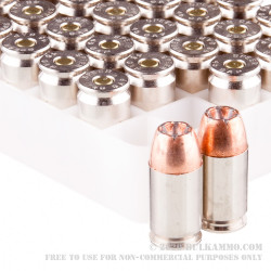 50 Rounds of .45 GAP Ammo by Speer Gold Dot - 185gr JHP
