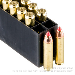 200 Rounds of 450 Bushmaster Ammo by Hornady BLACK - 250gr FTX