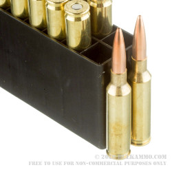 200 Rounds of 6.5 mm Creedmoor Ammo by Federal - 140gr OTM