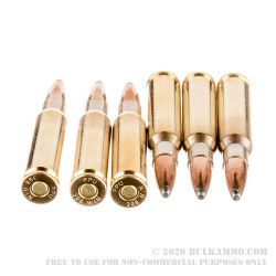 20 Rounds of .308 Win Ammo by Prvi Partizan Thunder - 170gr SP