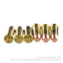 50 Rounds of .38 Spl Ammo by SinterFire RHA - 110gr Frangible