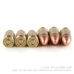 1000 Rounds of 9mm Ammo by Blazer Brass - 124gr FMJ
