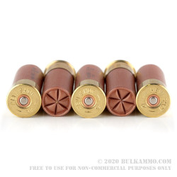 "5 Rounds of 12ga 2-3/4"" Ammo by Hevi-Shot Maximum Defense - 1 ounce T"