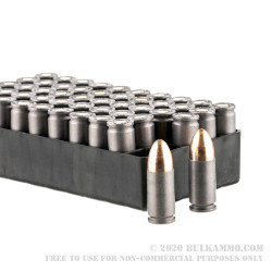 1000 Rounds of 9mm Ammo by Red Army Standard - 115gr FMJ