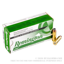 50 Rounds of .44 Mag Ammo by Remington UMC - 180gr JSP