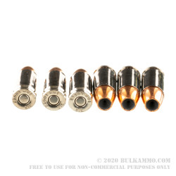 50 Rounds of 9mm Ammo by SIG Sauer Elite Performance - 147gr V-Crown JHP