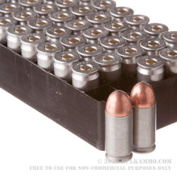 50 Rounds of .45 ACP Ammo by Silver Bear - 230gr FMJ
