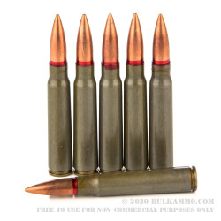 340 Rounds of 8 mm Mauser Ammo by Romanian Surplus - 150gr FMJ