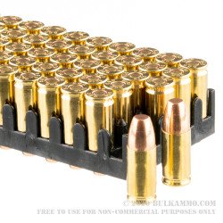 50 Rounds of 9mm Subsonic Ammo by Magtech - 147gr FMJ FN
