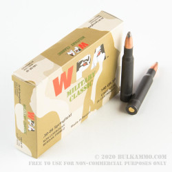 500  Rounds of 30-06 Springfield Ammo by WPA Military Classic - 140gr SP