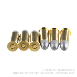 1000 Rounds of .38 Spl Ammo by Magtech - 158gr LRN