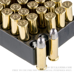 1000 Rounds of .38 Spl Ammo by Magtech (Surplus) - 158gr LRN