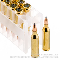 20 Rounds of .243 Win Ammo by Federal Power-Shok - 80gr SP