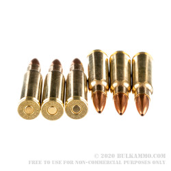 1000 Rounds of 6.8 SPC Ammo by Sellier & Bellot - 115gr HPBT
