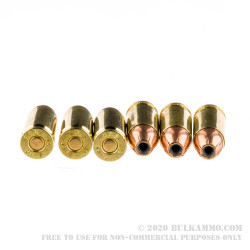 1000 Rounds of 9mm Ammo by Sellier & Bellot - 115gr JHP