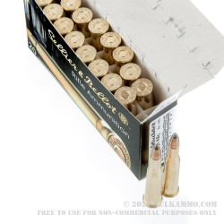20 Rounds of 5.6x52mm Rimmed Ammo by Sellier & Bellot - 70gr SP