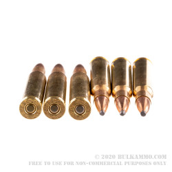 200 Rounds of 30-06 Springfield Ammo by Remington - 150gr PSP
