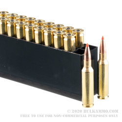 20 Rounds of 6.5mm Creedmoor Ammo by Hornady Varmint Express - 95gr V-MAX