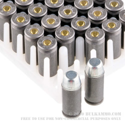 50 Rounds of .40 S&W Ammo by Tula - 180gr FMJ
