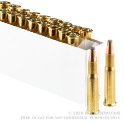 200 Rounds of 30-30 Win Ammo by Prvi Partizan - 170gr FSP